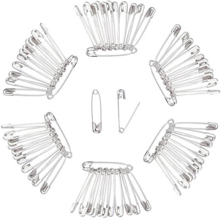 Diy Crafts Safety Pins Set Durable Rust Resistant Nickel