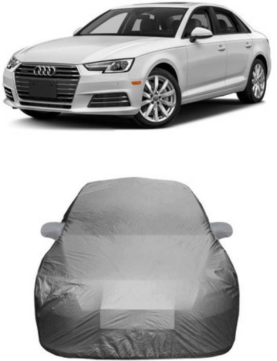HDSERVICES Car Cover For Audi A4 (With Mirror Pockets) Price