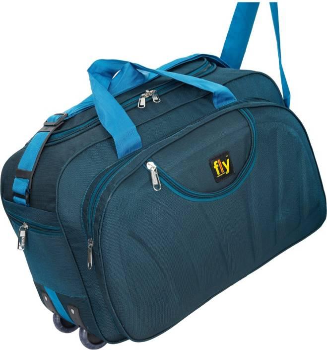 Fly Fashion (Expandable) duffle bags / duffle bags with wheels / duffle trolley / duffle bags women Duffel Strolley Bag