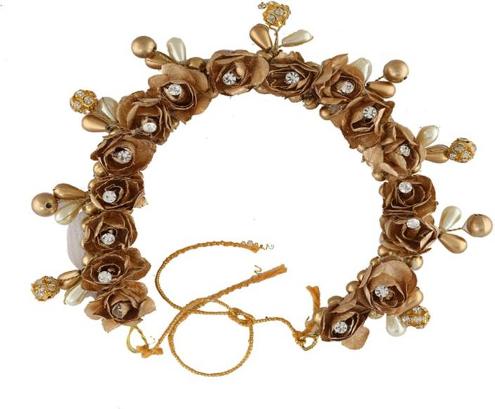 4757d03ef Anuradha Art Jewellery Hair Gajra For Bun Hair Band Price in India ...