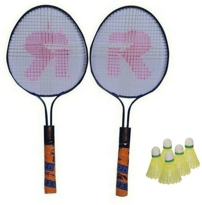 1pair Child Badminton Tennis Racket Baby Sports Bed Toy Educational Pop
