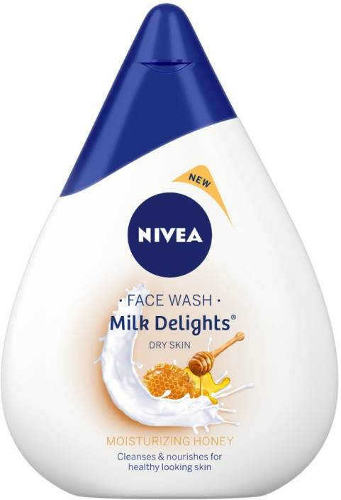 Nivea Milk Delights Moisturizing Honey Face Wash  (100 ml)