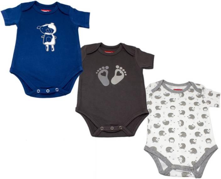 4cd0e262c86c Treasure Trove Baby Boys   Baby Girls Multicolor Bodysuit - Buy ...