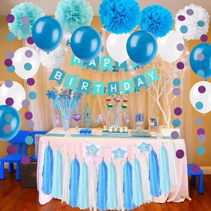 Factory 21 Multicolor Birthday Decorations Kit For Boy
