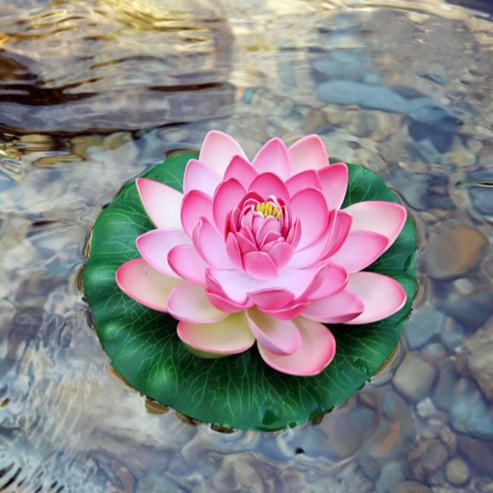 Lavi Aquarium Fish Tankplant Indoor Artificial Floating Lotus