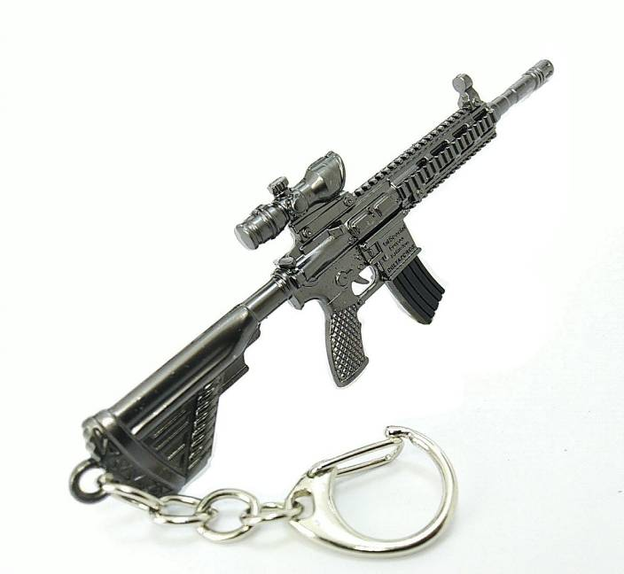 eDUST PUBG Real 3D Gun Refile Scope Model Metal Body M249