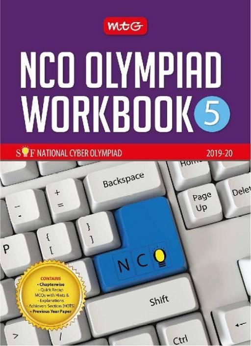 NCO Olympaid Workbook 5 - SOF National Cyber Olympiad 2019 - 20 1 Edition:  Buy NCO Olympaid Workbook 5 - SOF National Cyber Olympiad 2019 - 20 1