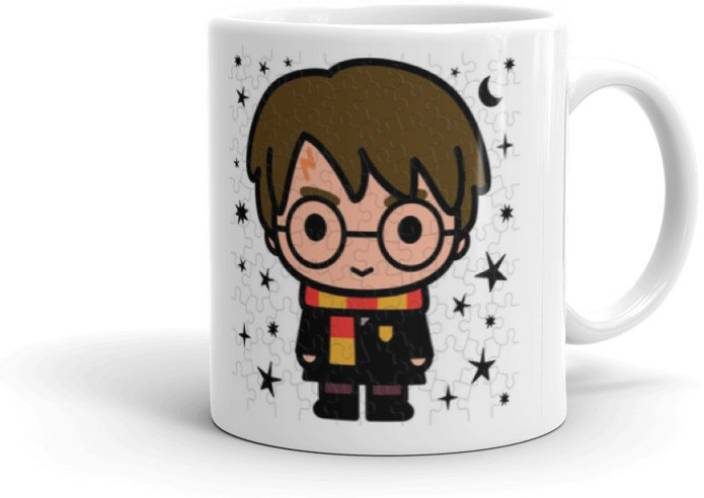 The Youth Cute Potter Multicolour Printed Harry 325ml Style Coffee 54SRjLc3Aq