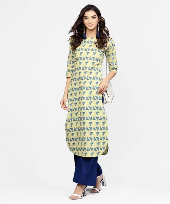 11ddd44b596 Libas Women s Printed Pathani Kurta - Buy Libas Women s Printed ...