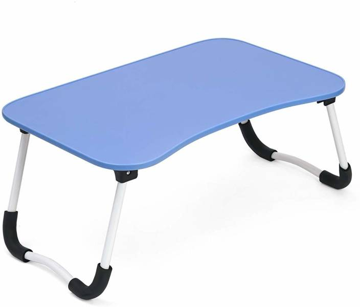 05f2ab38deb Powerpak Multi-Purpose Foldable Portable Wooden Bed Table   Study Table    Laptop Table   Kids Activity Table with Anti Skid Grip - Blue Wood Portable  Laptop ...