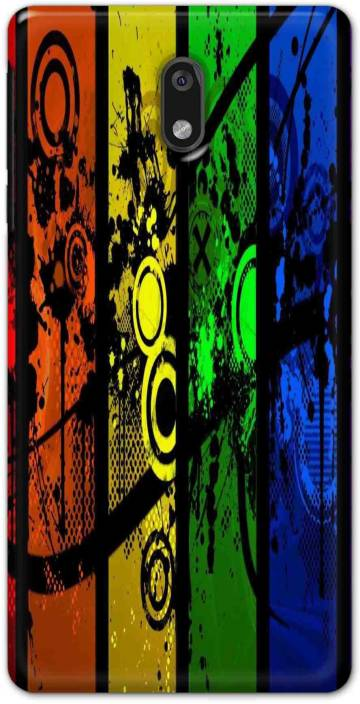 new styles 512c4 5bd1c Ezellohub Back Cover for Nokia 3 - Cool Pictures Hard Printed mobile ...
