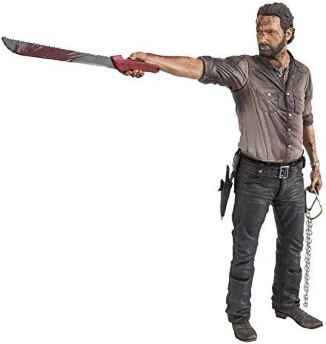 Series 6 Rick Grimes Action Figure McFarlane WALKING DEAD TV