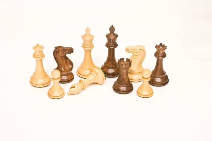 Ganesh Chess 101 Golden Rosewood & Boxwood 4 00