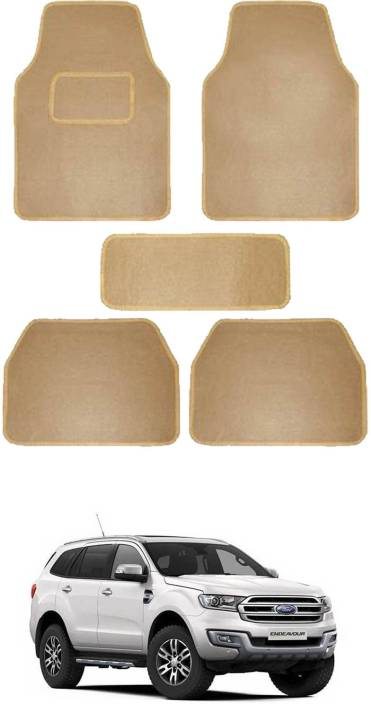 RONISH Fabric Standard Mat For Ford Endeavour Price in India