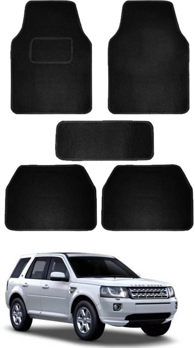 Floor Mats Set 4 Pcs Compatible with Land Rover Freelander Rubber Mats