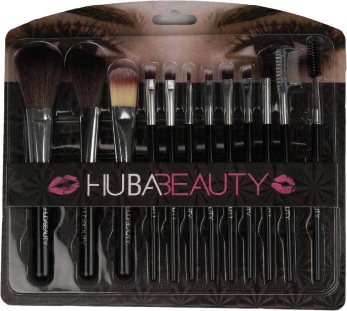 eabbb6d72b6 Huda Beauty 12pc Makeup Brush Set Premium Synthetic Foundation Brush  Blending Face Powder Blush Concealers Eye