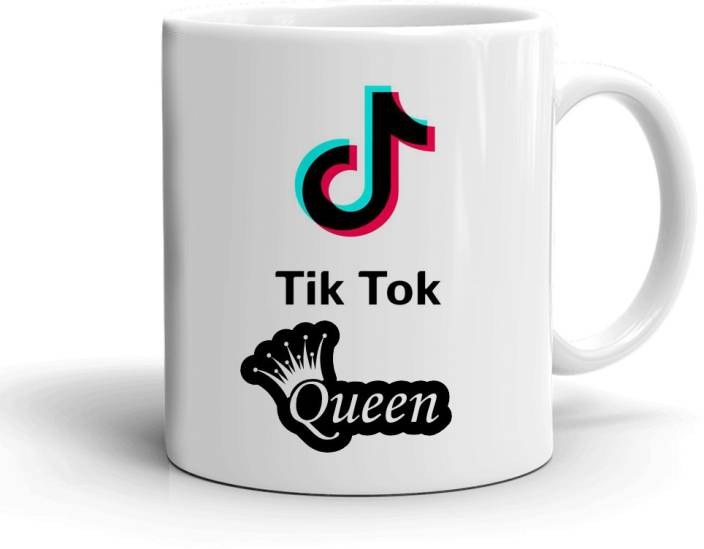 Khakee Tik Tok Queen Theme(tiktok03) Ceramic Mug Price in