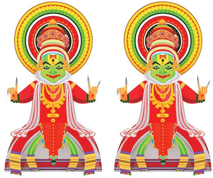 Toiing Craftoi 3d Diy Indian Paper Craft Kit Toy 2packkathakali