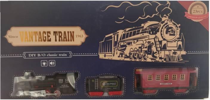 Jsk enterprise Vintage Extra Large DIY Train Set 1 st