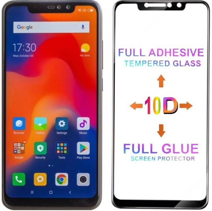 MT Guard Edge To Edge Tempered Glass for Mi Redmi Note 6 Pro