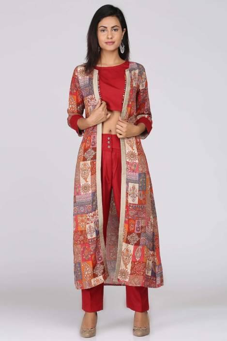 8932a3181f Soch Women Ethnic Jacket, Blouse and Palazzo/Trouser Set - Buy Soch ...