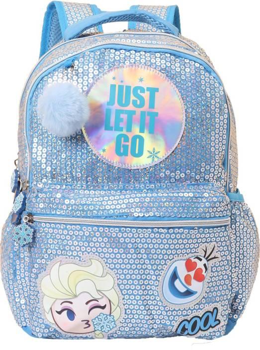 435c83fa87e Frozen Elsa Let It Go Pom Pom School Bag 41 cm ... - Flipkart.com