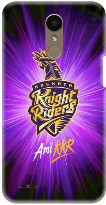 PNBEE Back Cover for LG K10 2018-KKR Kolkata Knight Riders IPL