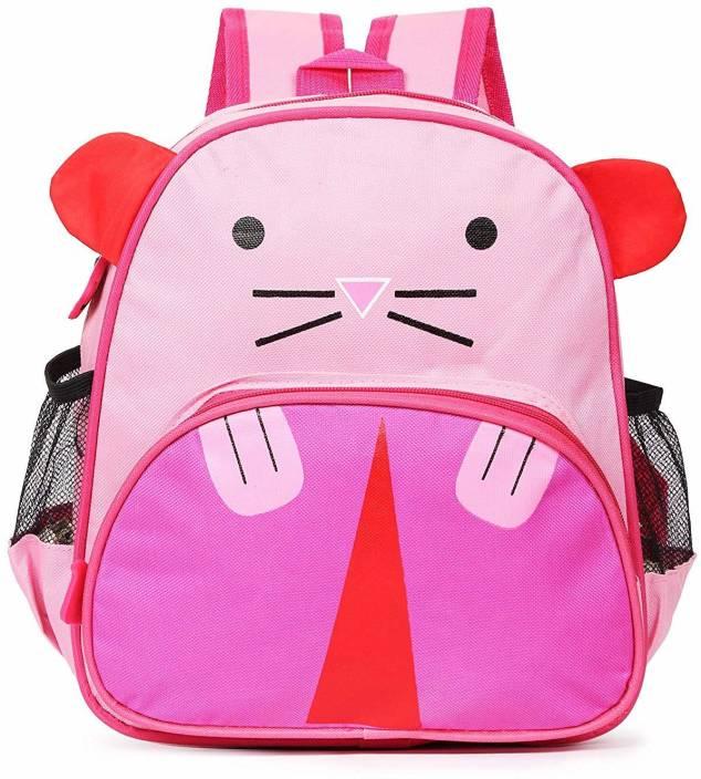 Online World Cat Cartoon Backpack Cute Small Toddler Backpack for Girl Boy  Kids Mini Pre- School Bag for Children (Dark Pink) School Bag (Pink 97ae8e70207d7