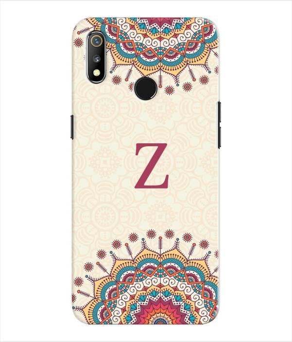 Etechnic Back Cover for Realme 3 - Alphabet Z - Etechnic : Flipkart com