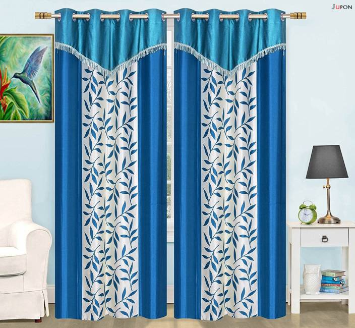 LE HAVRE 1828 Cm 6 Ft Polyester Shower Curtain Pack Of 2