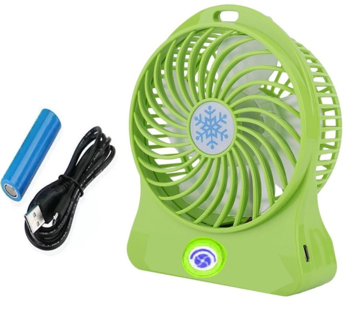 Rechargeable Portable Mini USB Air Conditioner Cooler Fan For Outdoor Desktop