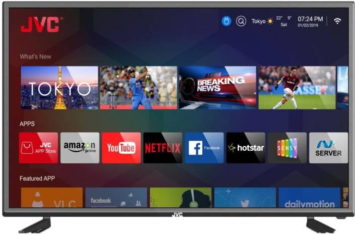 JVC 101cm (40 inch) Full HD LED Smart TV