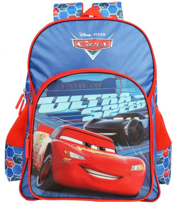 e6f67eed2fb Cars Lightning McQueen Ultra Speed School Bag 36 cm Backpack (Blue