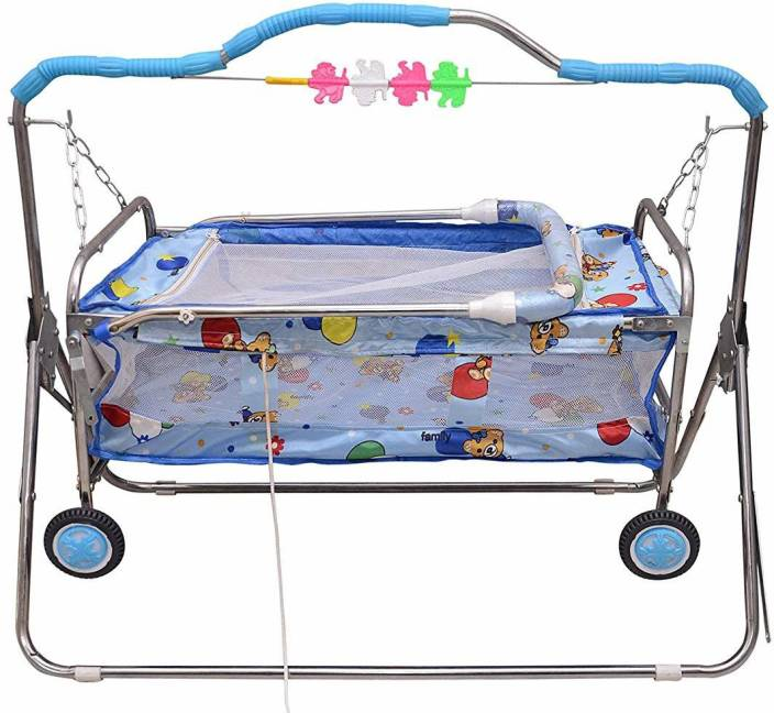 Tender Care Baby Cradle Swing Baggi Jhula With Iron Body Buy