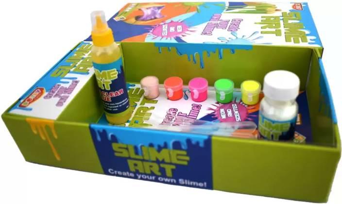 Kidzoo Slime Art - Create Your Own Slime - Slime Making Kit For