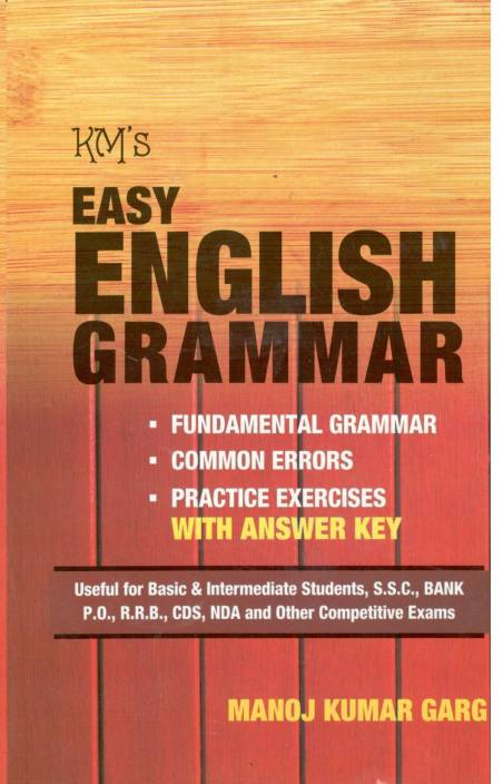 Common errors in english grammar exercises with answers