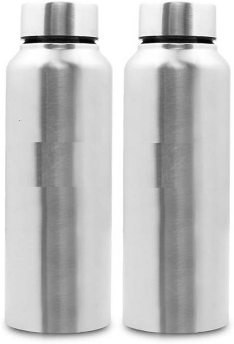 EZRA Stainless Steel Water Bottle, 2 Litre