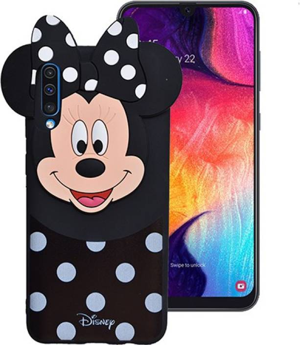 best sneakers 30902 f0bc9 Marshland Back Cover for Samsung galaxy A50, Micky Mouse, Rubber ...