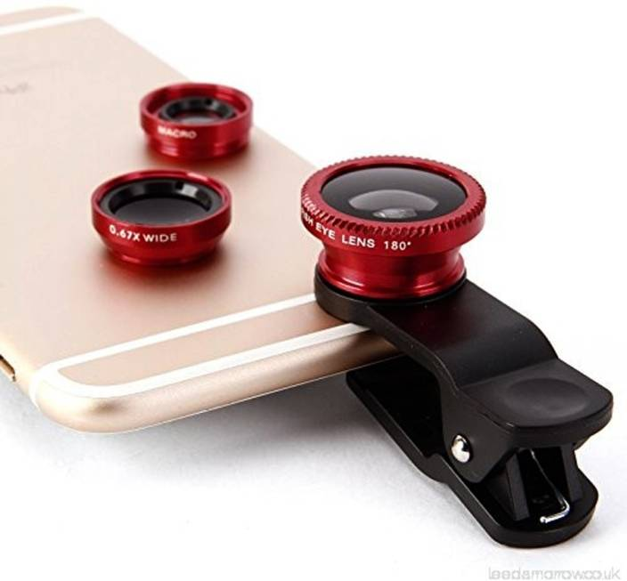casadomani Universal High Quality 3 in1 Clip-on Mobile Phone Camera