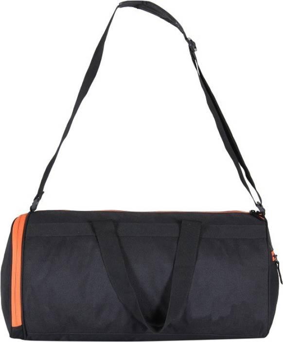 fed5b5abe0e3 5 Star Collection A21 Trendy Black Gym Bag