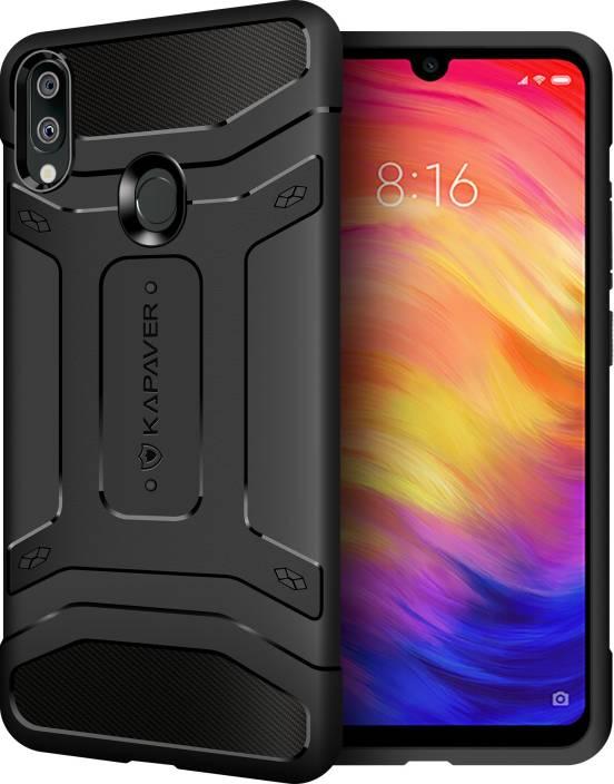 buy online fea1e 47e9e Kapaver Back Cover for Mi Redmi Note 7, Mi Redmi Note 7 Pro