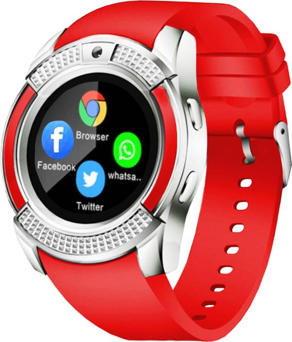Time Up I-PRO Smart Watch Phone for Android/iOS Red