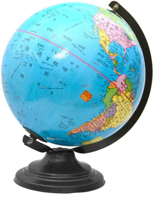Finaldealzz Globe hindi Desk & Table Top Political World Globe Price