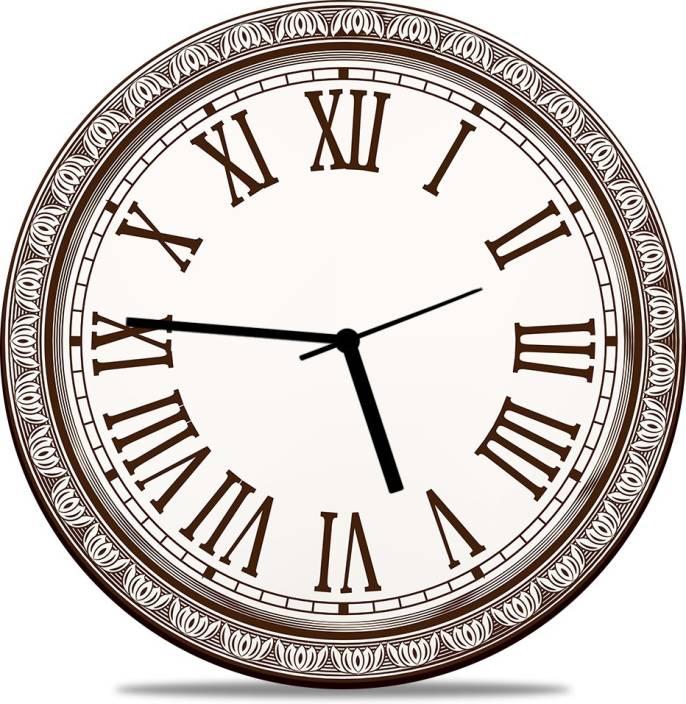 UNZIP Analog 28 cm X 28 cm Wall Clock Price in India - Buy UNZIP