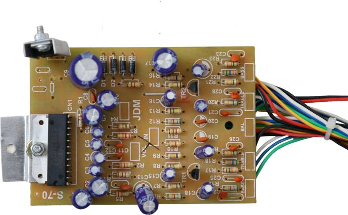 Barry John 6283 IC Audio Board with Bass Treble 30 W Stereo