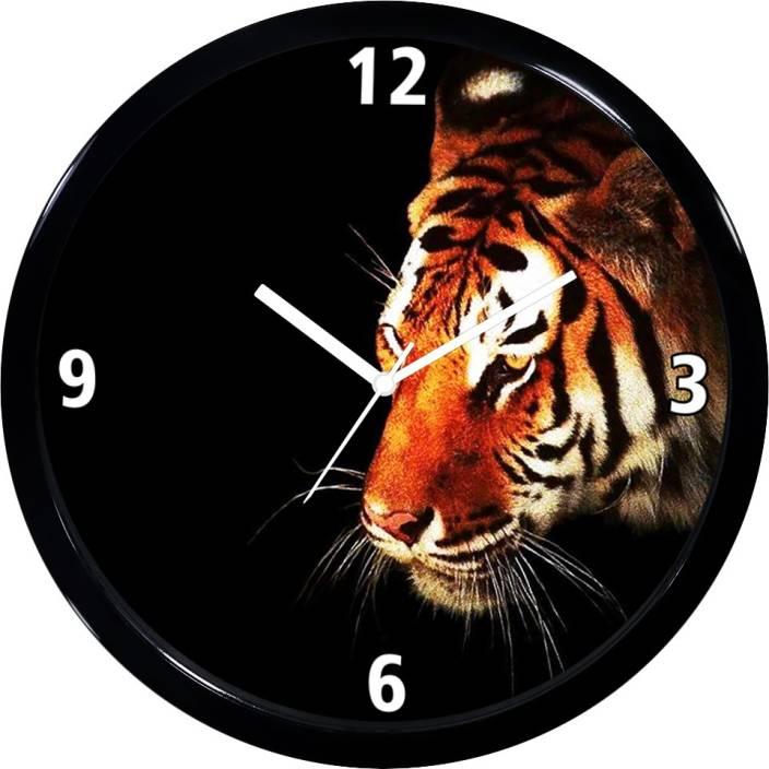 UNZIP Analog 28 cm X 2 cm Wall Clock Price in India - Buy UNZIP