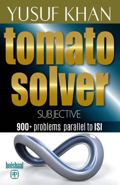 TOMATO SOLVER: Buy TOMATO SOLVER by YUSUF KHAN at Low Price in India |  Flipkart com