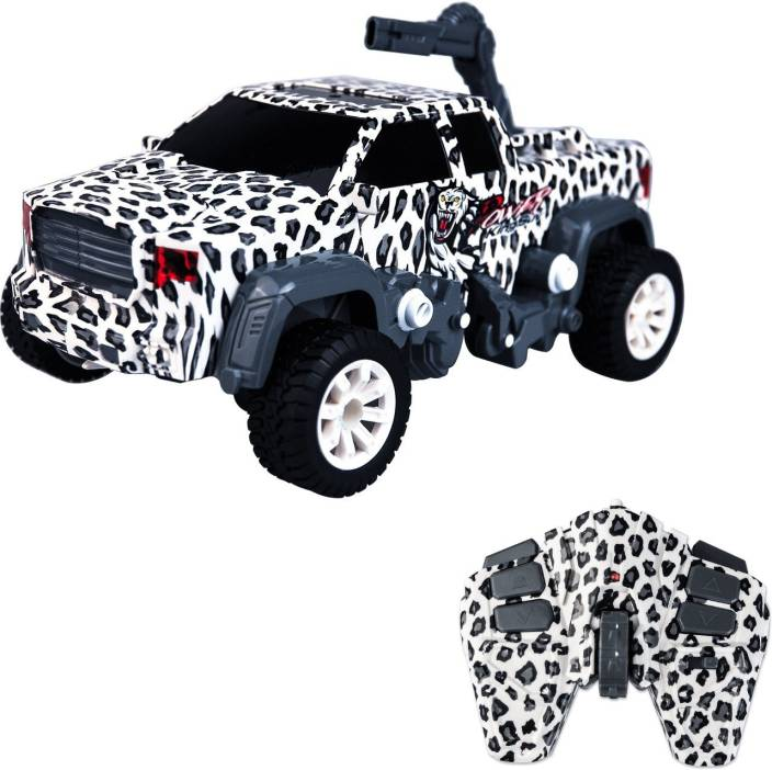 Smartcraft Stunt Leopard RC Crazon car, 2 in 1 Toy Hobby Model RC