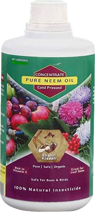 SHEHRI KISAAN Pure Neem Oil for Plants 250 ml Soil Manure