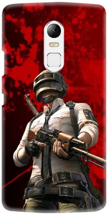 LEEMARA Back Cover for Lenovo Vibe X3 -PubG Mobile Back Cover